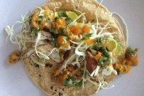 Spiced Mahi Mahi Tacos with Salsa Fresca and Chipotle Crema