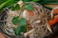 Dungeness Crab with Cellophane Noodles