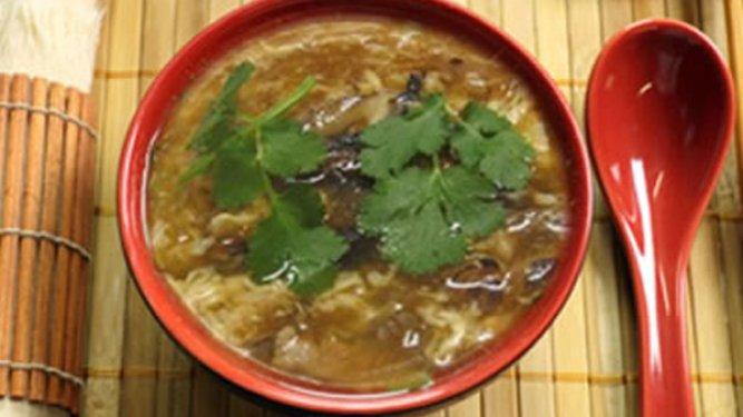 Faux Shark Fin Soup