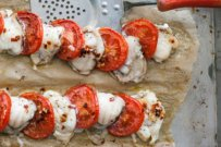 Roasted Monkfish and Tomatoes