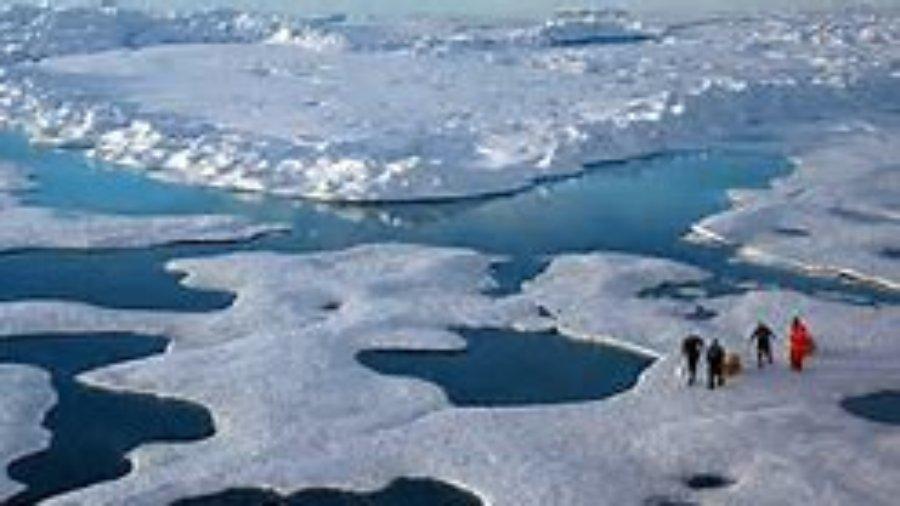 Artic aerial photo