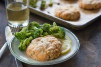 EASY FISH CAKES WITH CAPERS