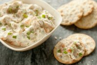 LEMON TARRAGON SMOKED SALMON SPREAD