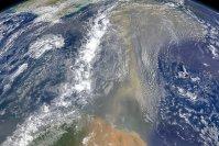 Saharan Dust Headed for the Gulf Coast